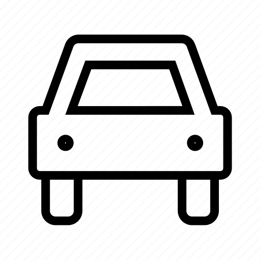 car, sign icon