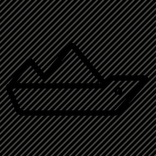 ship, tanker icon