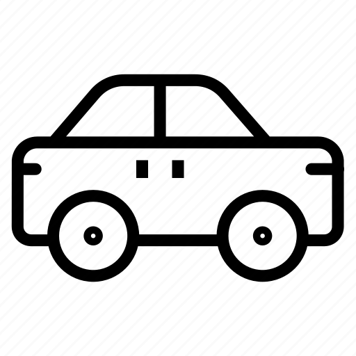 automobile, car, delivery, transport icon