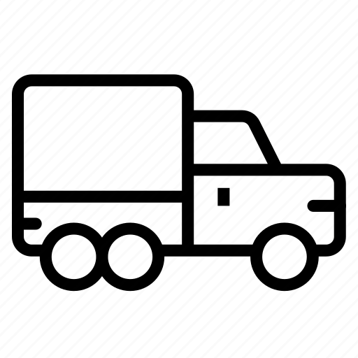 car, delivery, shipment, truck icon