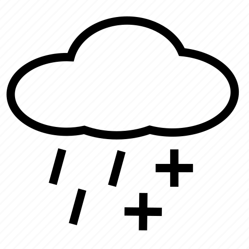 rain, sleet, snow icon