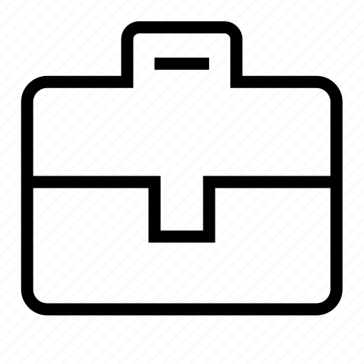 bag, case, suitcase icon
