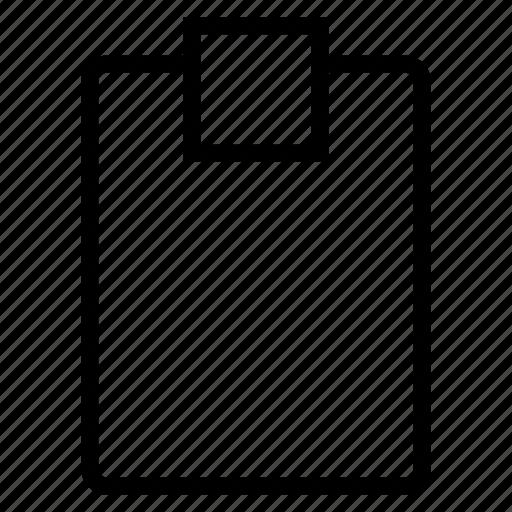 clipboard, table icon