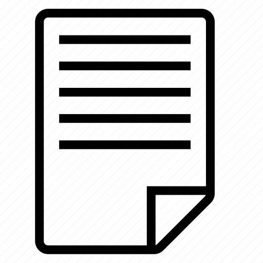 a4, document, file, paper, text icon