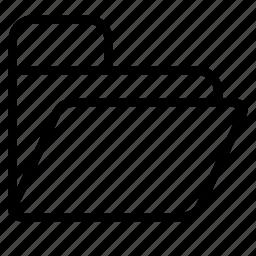 folder, open icon