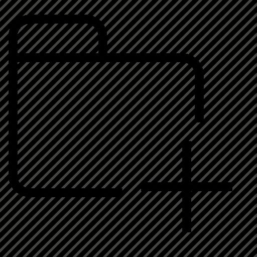 creaate, folder, new icon