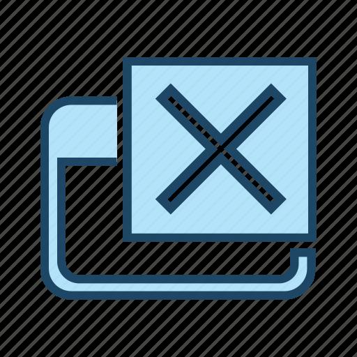 close window, delete, exit, remove icon