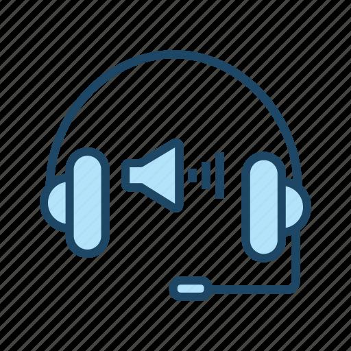 headset, increase volume, microphone volume, raise volume up, volume up icon