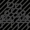 campaign, debate, debating, election, elections, rival, vote icon