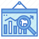 analysis, business, statistics, verification icon