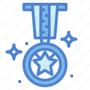 award, gold, medal, winner icon