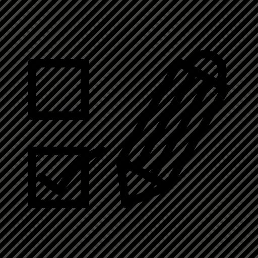 Choose, democracy, election, pencil, voting icon - Download on Iconfinder