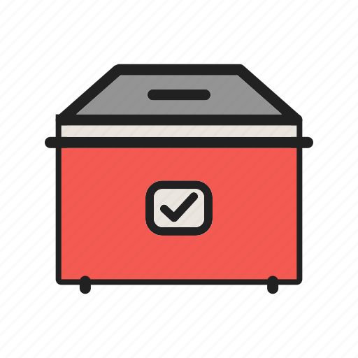 Ballot, box, election, politics, poll, vote, voting icon - Download on Iconfinder