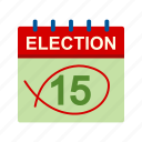 box, choose, day, election, patriotic, vote, voting icon