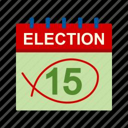 box, choose, day, election, patriotic, vote, voting icon