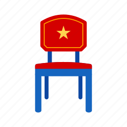election, government, parliament, politics, power, seat, senate icon