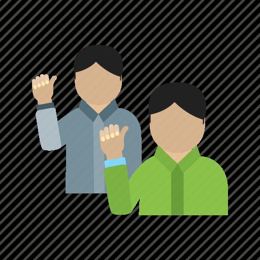 crowd, event, group, people, politics, speech, waving icon