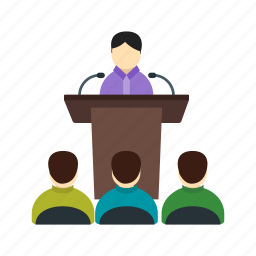 audience, conference, hall, meeting, presentation, seminar icon