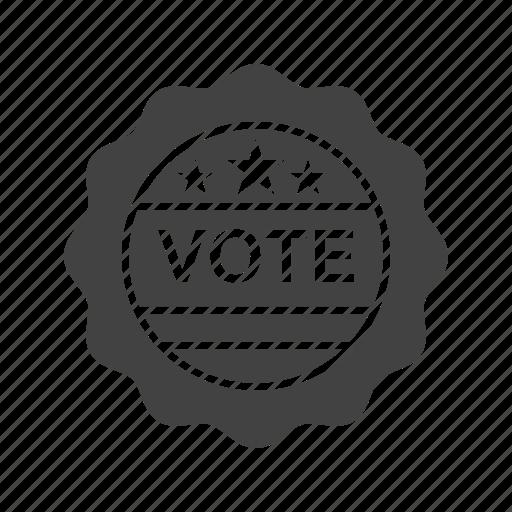 choice, label, sign, stamp, sticker, vote, voting icon
