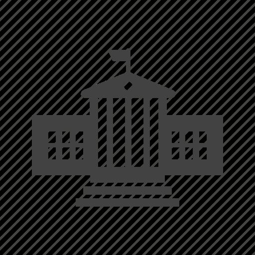architecture, building, house, landmark, power, presidential icon