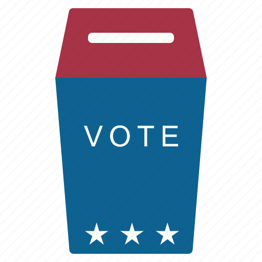 box, choice, elections, vote icon