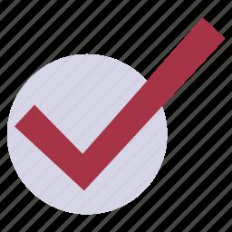 accept, checkmark, choice, elections, ok icon