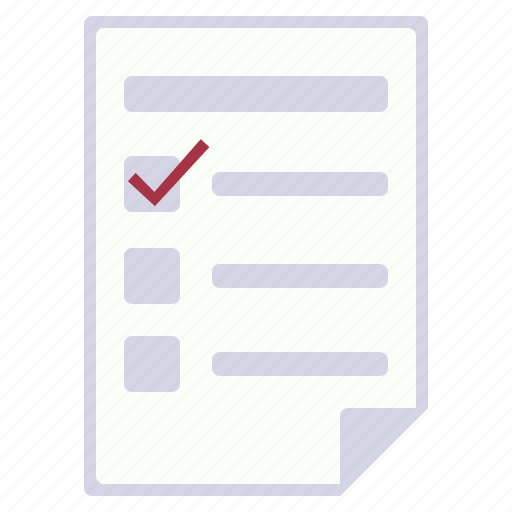 choice, elections, form, individual list icon