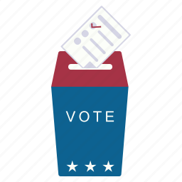 application, box, choice, elections, form, vote icon