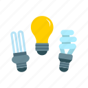daylight, electric, lamp, light, lighting, strip lighting icon