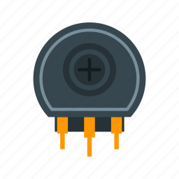 circuit, electrical, electronic, equipment, resistor, technology icon