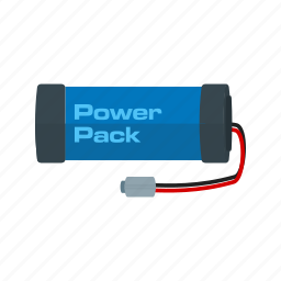 battery, electric, electricity, energy, pack, power, source icon