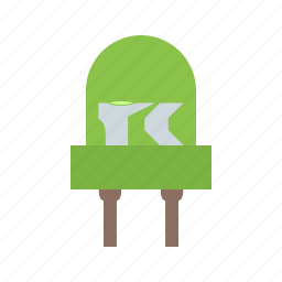 diode, electrical, electronics, equipment, power, technology icon
