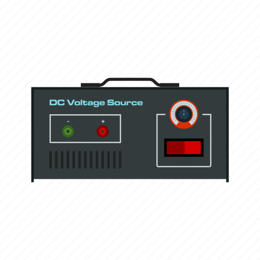 battery, dc, electricity, energy, power, volt, voltage icon