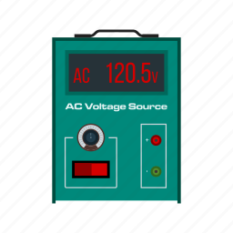 ac, battery, electricity, energy, power, volt, voltage icon