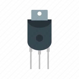 circuit, component, electricity, engineering, science, technology icon