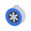 duct, electric fan icon