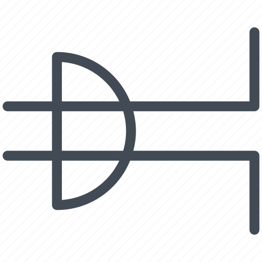 ac power, circuit, connector, electric, electronic, male plug, plug icon