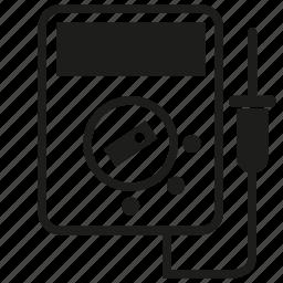 electricity, meter, multimeter, volt meter icon