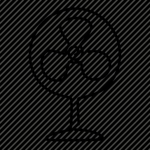 electric, fan icon