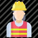 woman, electrician