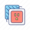 service, socket, broken, repair
