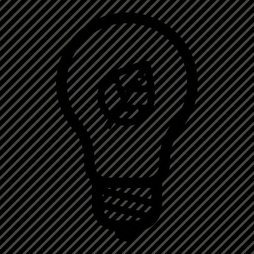 economy, electricity, energy, idea, leaf, light, lightbulb icon