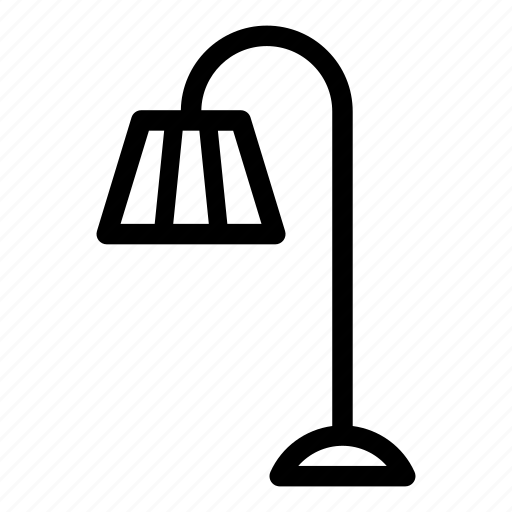 electric, electricity, energy, lamp, light, lightbulb, torchere icon