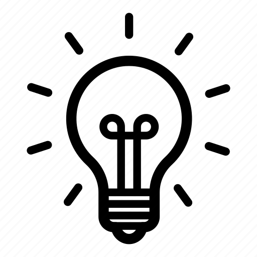 bulb, electric, electricity, energy, lamp, light, technology icon