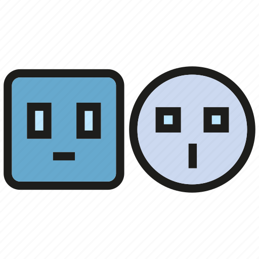 electronic, energy, outlet, power icon