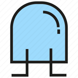 device, diode, electronic, electronic component, semiconductor icon