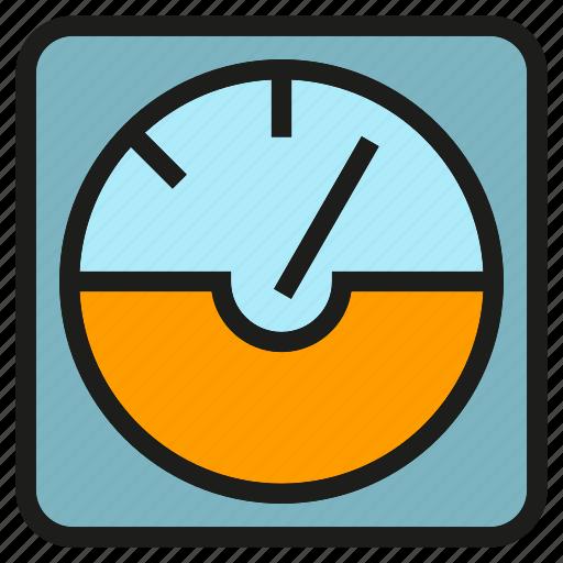 gage, gauge, measure, measurement, meter, metre icon