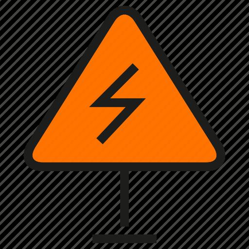 bolt, danger, electricity, high voltage, thunderbolt icon