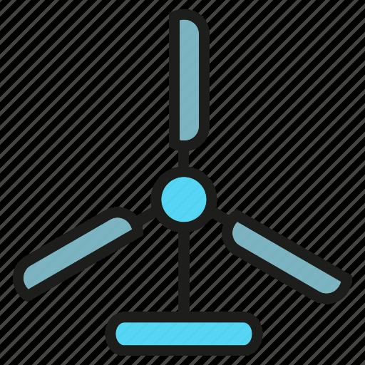 blade, energy, power, wind turbine icon