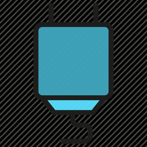 electronic, plug icon